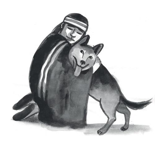 Simona Mulazzani -Luis Sepulveda, Storia di un cane che insegnò a un bambino la fedeltà, Guanda 2016.